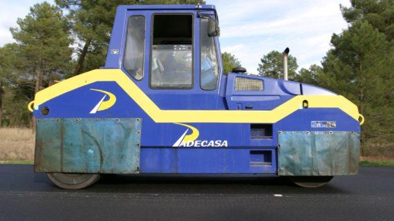 Historia compactador de neumáticos PADECASA