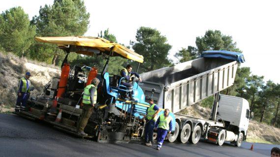Historia trabajos de extendido extendedora_camión PADECASA 2