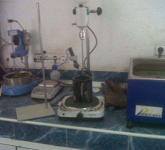 Material laboratorio PADECASA