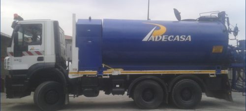 Cisterna de riego PEGASO maquinaria de PADECASA