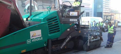 Extendedoras de mezclas VOGEL Modelos 2100-3i y 1900-3i maquinaria de firmes y pavimentos PADECASA 3