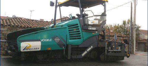 Extendedoras de mezclas VOGEL Modelos 2100-3i y 1900-3i maquinaria de firmes y pavimentos PADECASA