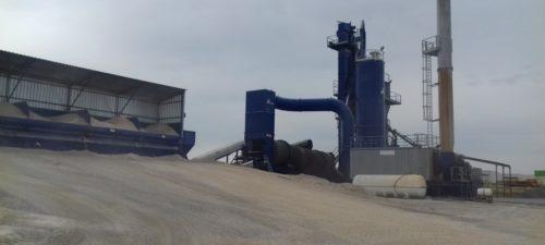 Planta de mezcla bituminosas en Algete de PADECASA Intrame M260
