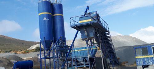 Planta de suelo y grava cemento PADECASA SOTECMA producción 500 t/h