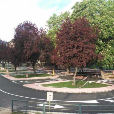 Firme en parque de tráfico de Segovia PADECASA